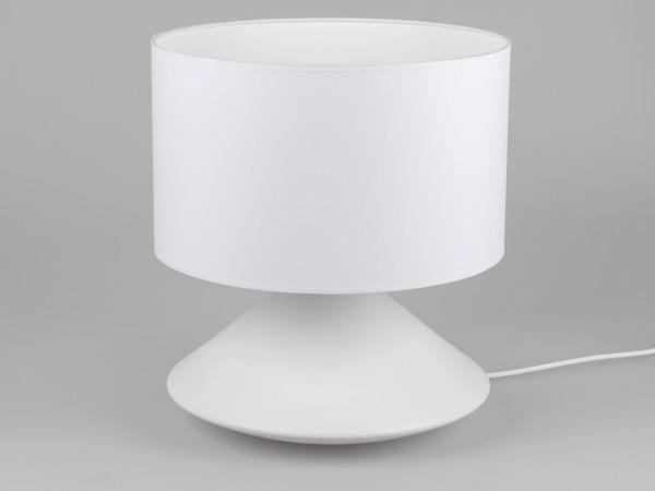 Formano Keramik-Tischlampe, H. 45cm weiß