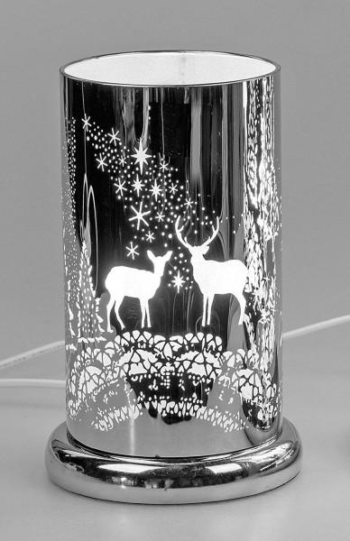 Formano - Touch-Funktion Lampe, Motiv Hirsche, 24cm