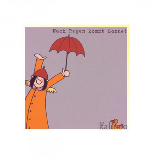Karte Himmlische Schwestern - Nach Regen kommt Sonne!