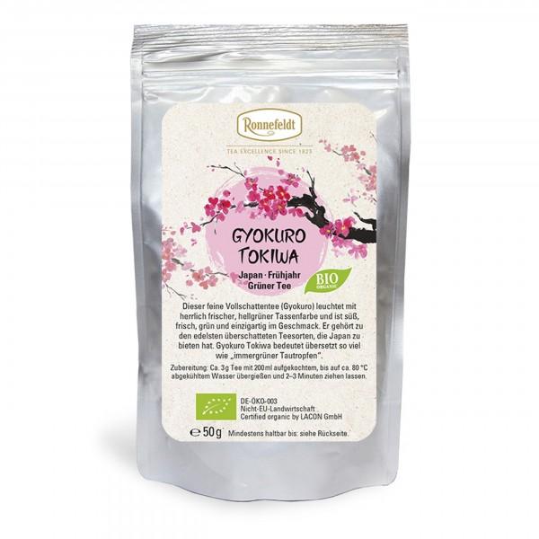 Ronnefeldt - BIO Gyokuro Tokiwa - grüner Tee - Japan - 50g